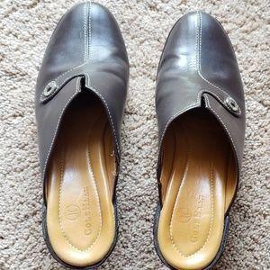 Womens Cole haan slip on heels 7.5